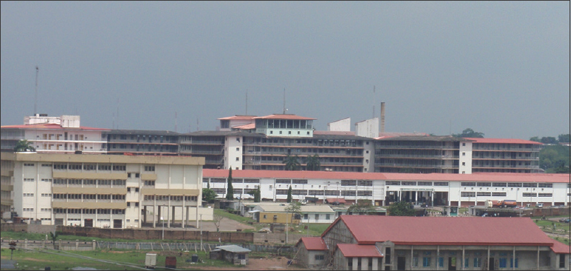 Figure 3:  University College Hospital, Ibadan: West Africa's Premier Teaching Hospital